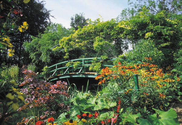 Visite guid e en normandie jardin de giverny claude monet for Jardin normandie